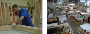 Manufacturing beds to the highest standard in our suffolk workshop UK